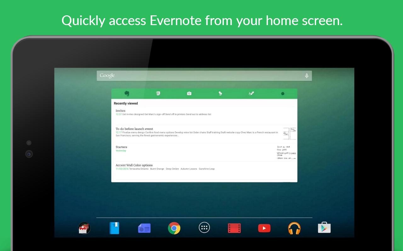 Evernote - stay organized. screenshot #24