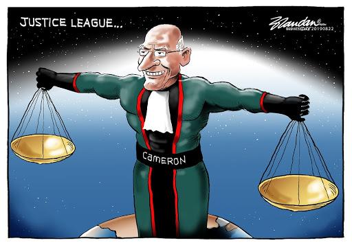 CARTOON: Justice League's Edwin Cameron