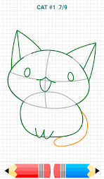 How to Draw Kawaii Drawings APK screenshot thumbnail 11