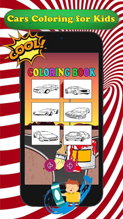 漫画の車のぬりえキッズの画像集 Androidアプリ Applion