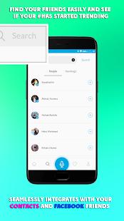 OOL (Social Voice App) - náhled