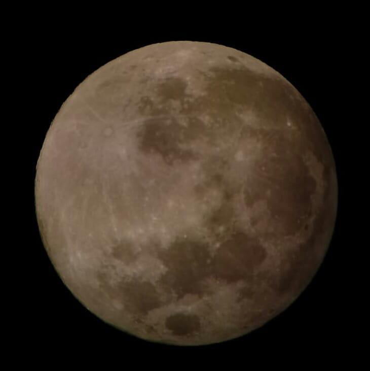 La luna ...padrona del cielo di Flaing57