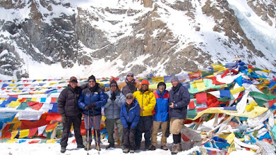 Photo: My team of five 'brothers' on Kailash, several years ago ...