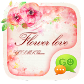 (FREE) GO SMS FLOWER LOVE THEME