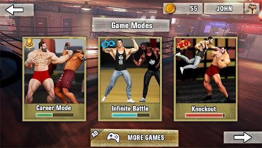 Bodybuilder Fighting Games: Gym Wrestling Club PRO 4