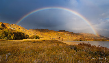 Photo: All The Rainbows, Scotland Best Viewed Large  It was all Rainbows and....more Rainbows on our last visit to Scotland. We landed in Scotland just to face a storm front....and next day it broke up dropping down gorgeous rainbows all over the place. The fantastic weather lasted for 24 hours before another storm front arrived...just as we were departing. Who says that the weather in Scotland does not co-operate with you. ;)  How was this image created? This is an manually blended shot consisting of the three separate shots using our iHDR manually blending workflow. We challenge was not only to get the tonal range looking correctly, but also preserve the natural balance.  Enjoy & Share. ____________ #landscapephotography  #photography #phototips