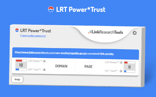 LRT Power*Trust – PageRank Replacement