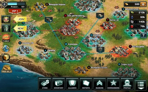 War of Nations: PvP Domination- screenshot thumbnail