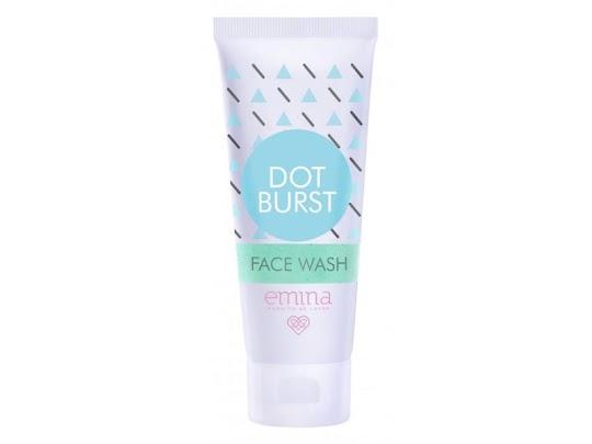 Dot Burst Face Wash EMINA Membersihkan melembabkan lembab kulit wajah sensitif kering sabun cair