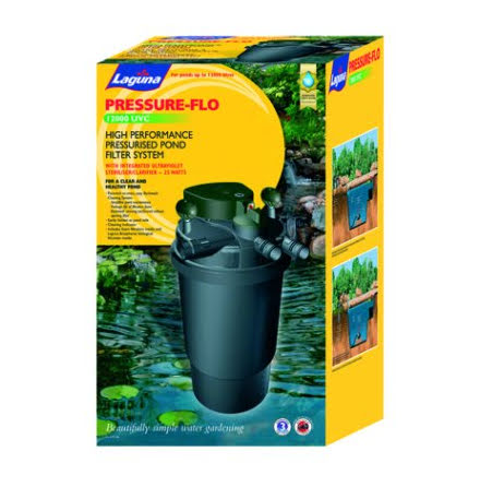 Laguna Pressure-Flo 12000 Dammfilter UV-C