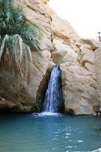 Photo: Cascada en el oasis de Chebika