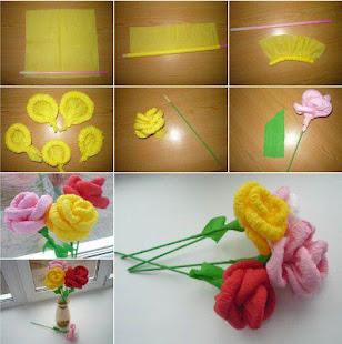 Download Fun Paper Flower Tutorial Free