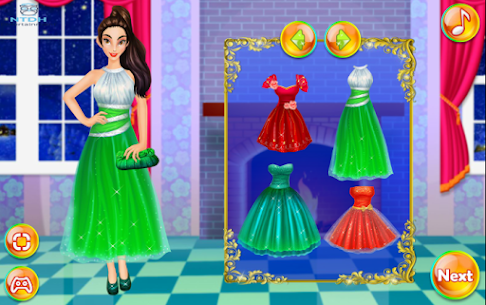 Dress up games for girl – Princess Christmas Party 2