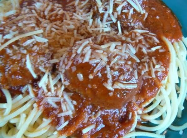 Italian Meatballs In Sauce (moose, Pork & Beef)
