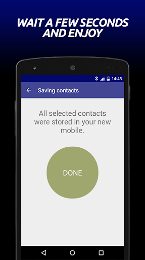Transfer Contacts hack tool