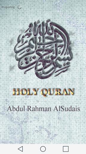 Al Soudais Sudais Holy Quran