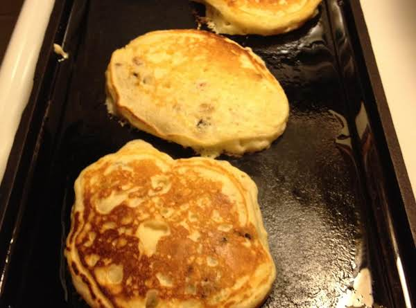 Plum Walnut Pancake's
