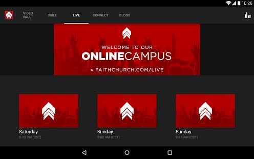 FaithChurch.com- screenshot thumbnail