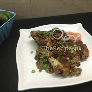 Tawa Chicken Recipe (Step by Step).