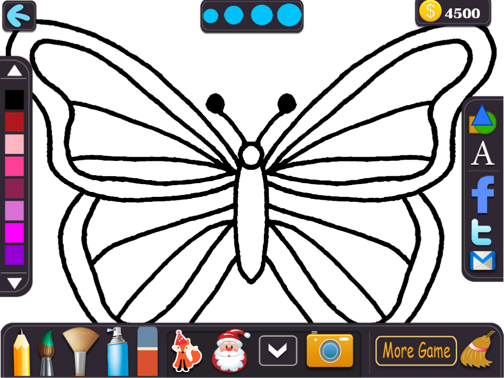 kids color fly drawing book android apps on google play