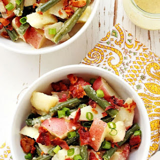 Green Bean and Potato Salad with Bacon