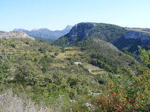 Photo: There is some nice mountain scenery as we roll along towards the Gorges du Verdon.