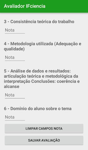 玩免費遊戲APP|下載Avaliador IFCiência app不用錢|硬是要APP