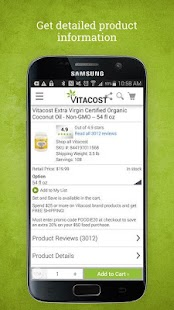 Vitacost- screenshot thumbnail