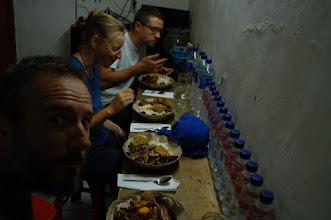 Photo: Nasi Campur (Reis mit verschiedenen Beilagen) im Warung (Imbiss) - ein scharfer Festschmaus