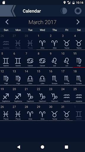The Moon - Phases Calendar screenshot 5