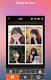 screenshot of photo collage, photo editor