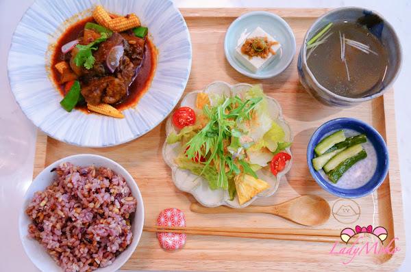 豐盛美味健康日式定食&超美刨冰,皿富器食 ,新竹美食