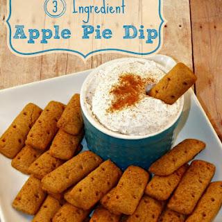 Three Ingredient Apple Pie Dip
