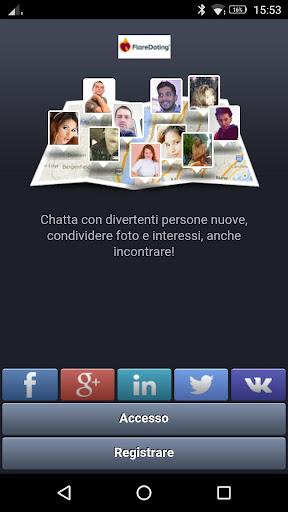 Incontri, Amicizia, Chatta, Flirt - FlareDating screenshot
