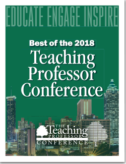 The Best of The teaching Professor Conference 2018