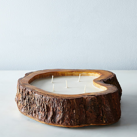 Tree Trunk Candle