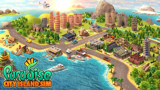 Télécharger Gratuit Sim ville sur île paradisiaque APK MOD (Astuce) screenshots 1