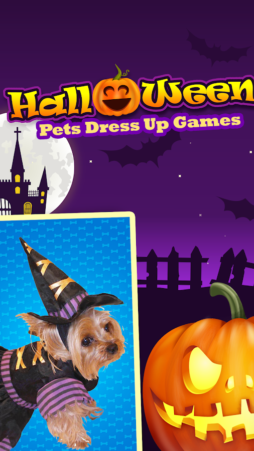 halloween pets dress up games screenshot - Dress Up Games For Halloween