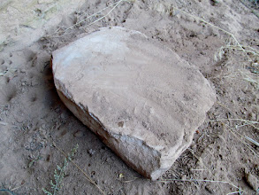 Photo: Hmm...maybe an unused metate?