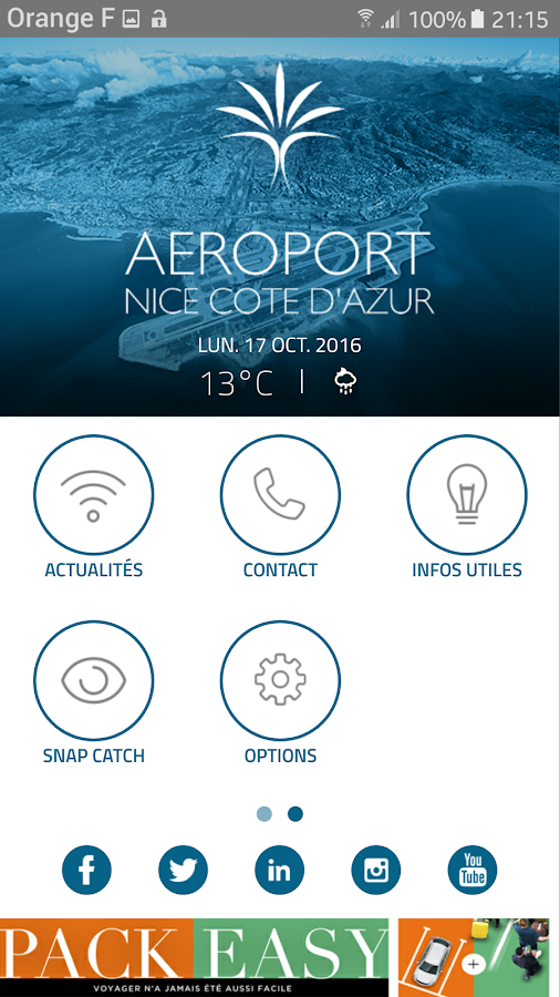 Nice Airport- screenshot