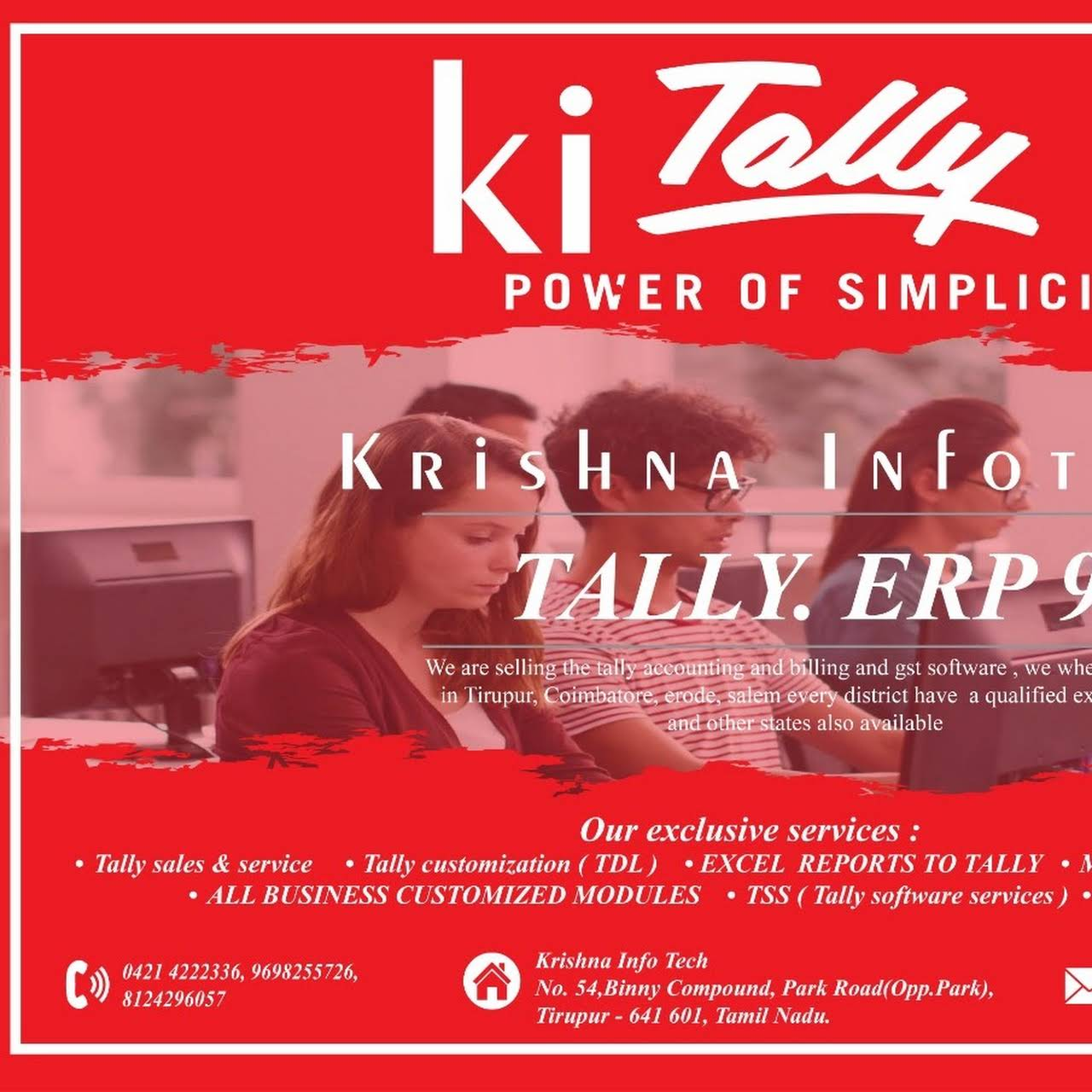 Krishna infotech - Tally Software - Authorized Tally partner