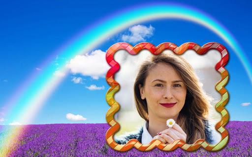 Rainbow Photo Frame Editor