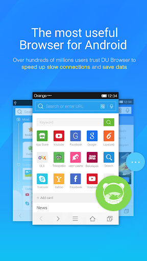 DU Browser—Browse fast & fun screenshot 1