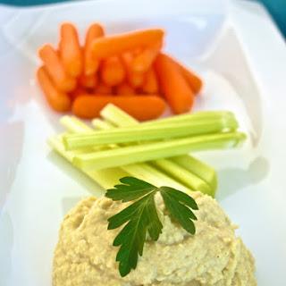 (Oil-Free) Low Fat Vegan Chickpea Hummus
