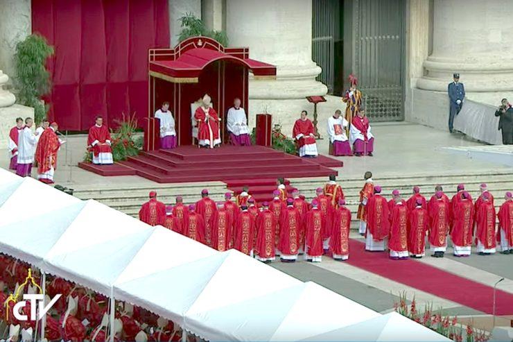 Bài giảng của Đức Thánh Cha Phanxico Lễ Thánh Phê-rô và Phaolo
