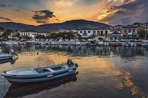Galaxidi, Greece by Zisimos Zizos - City,  Street & Park  Vistas ( sonya68, vacation, greece, summer, galaxidi, vacations, boat )