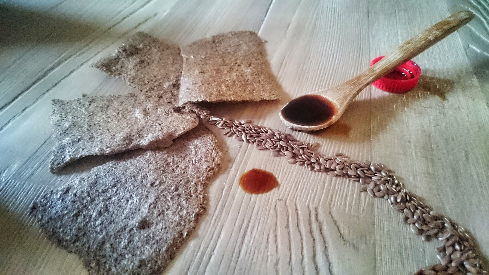 Crackers bio graines de lin tamari