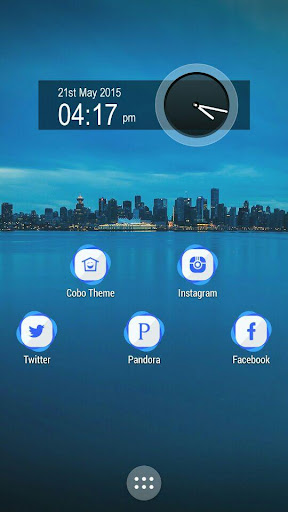 Blue Circle Icon Pack