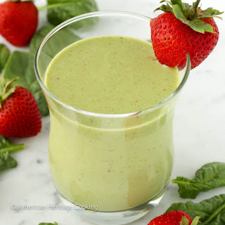 Strawberry Banana Spinach Smoothie Recipes
