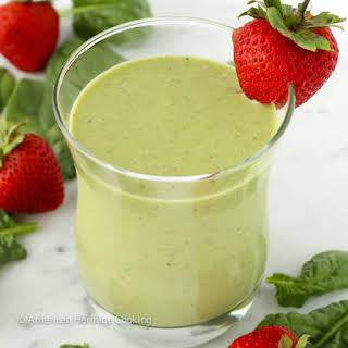 Strawberry Banana Spinach Smoothie Recipes.